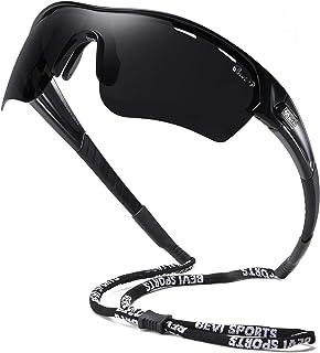 نظارات شمسية مستقطبة للرياضة للرجال والنساء البيسبول والجري وركوب الدراجات والجولف Tr90 إطار متين وخفيف الوزن