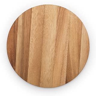 Ironwood Gourmet 28445 Multi-Use Circle Serving Board, Acacia Wood