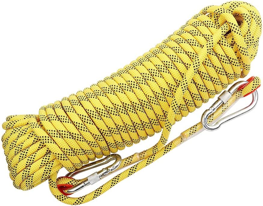 QHY NEW Static Climbing Rope Outdoor Branded goods Rock 14mm