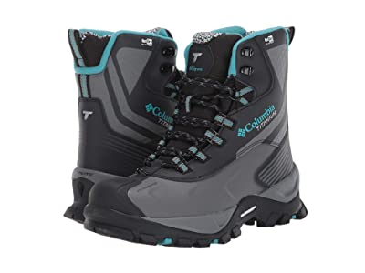Columbia Powderhouse Titanium Omni-Heat 3D Outdry (Black/Pacific Rim) Women
