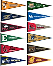 Mid-American Conference MAC College Pennant Set