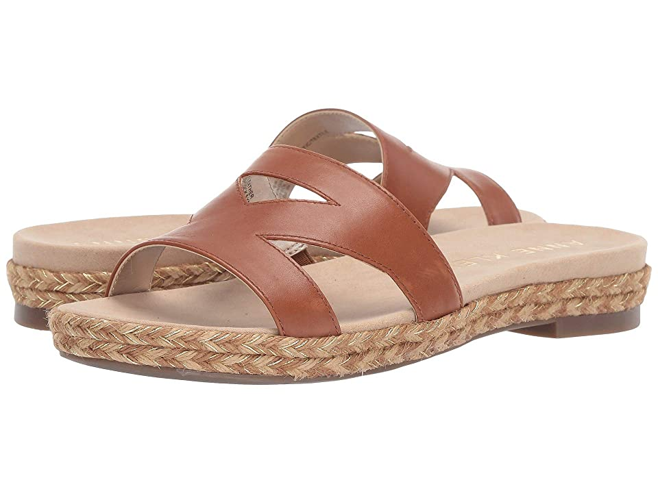 Anne Klein Doris Slide Sandal (Tobacco) Women