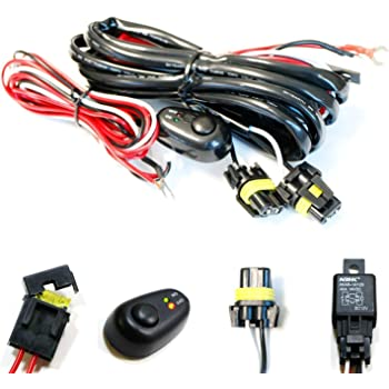 Amazon.com: iJDMTOY (1) 9005 9006 H10 Relay Harness Wire Kit with LED Light  ON/OFF Switch Compatible With Aftermarket Fog Lights, Driving Lights, Xenon  Headlight Lighting Kit, LED Work Lamp, etc: AutomotiveAmazon.com