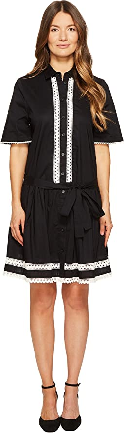 Kate Spade New York Lace Inset Shirtdress