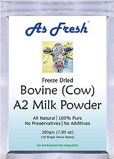 Sponsored Ad - As Fresh A2 milk powder 7 oz I 10 single serve sachets I Freeze Dried I 100% Pure I Unsweetened