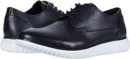 Black/White/Soft Tumbled Leather