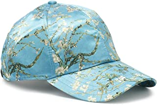 Vans Gogh Almond Blossoms Blue Snapback Cap