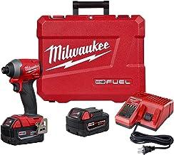 MILWAUKEE'S (MLW 2853-22) M18 Fuel 1/4 pulgadas Hex Impact Driver XC Kit