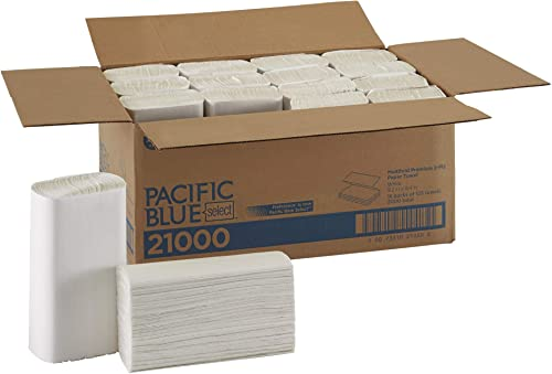 Pacific Blue Select Multifold Premium 2-Ply Paper Towels by GP PRO (Georgia-Pacific), White, 21000, 125 Paper Towels ...