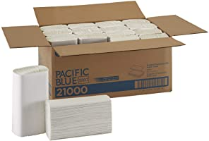 Pacific Blue Select Multifold Premium 2-Ply Paper Towels by GP PRO (Georgia-Pacific), White, 21000, 125 Paper Towels Per...