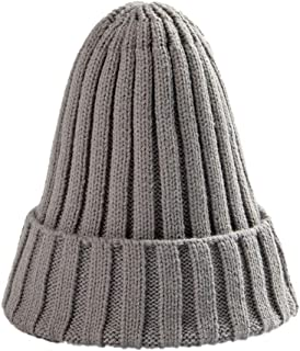 Winter Knit Beanie Cap Ski Hat Casual Hats Warm Caps for Men Women