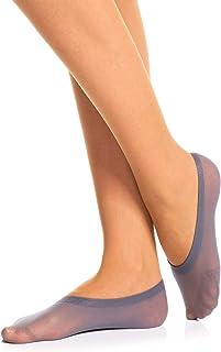 Romartex 5 paia di calzini invisibili per scarpe da ginnastica da donna