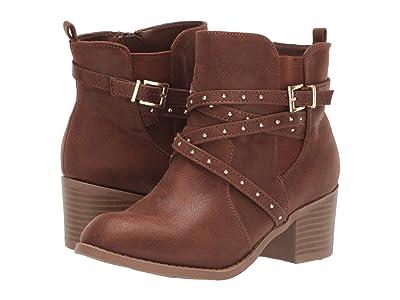 Mia Kids Tammi (Little Kid/Big Kid) (Cognac) Girls Shoes