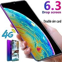 L-PH Mobile Phone - 18MP 8MP 4G LTE Dual SIM Smartphone Unlocked, 6.3 Inch HD 19:9 Full-Screen IPS Display,4800mAh,Android 9.1 Gradual Blue (Color : 6+64g)