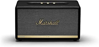 Marshall Stanmore II Voice with Amazon Alexa, The Legendary Wireless Speaker with Larger Than Life Customisable Sound, Black