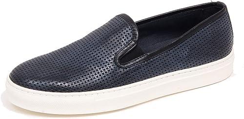 F4294 Turnzapatos hombres azul Delave ANTICA CUOIERIA zapatos Slip on zapatos Man