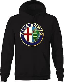 Alfa Romeo Emblem Logo Hooded Sweatshirt