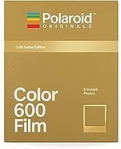 Polaroid Originals 4859 Limited Edition Color Film for 600 - Metallic Gold Frame Edition
