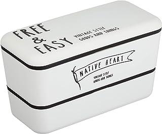 正和 FREE&EASY 長角ネストランチ ホワイト 7.7×16.5×9.5cm 日本製