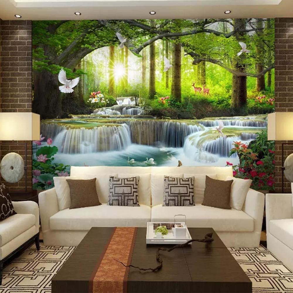 Photo Wallpaper Waterfall Landscape Wall Milwaukee Year-end annual account Mall Mural Post Print Art 3D