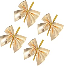 PIXNOR 24Pcs Ribbon Bows Tree Bowknots Ornament Christmas Decoration