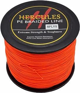 HERCULES 300m 328yds Superline 10lbs-300lbs Pe Braided Fishing Line 8 Strands