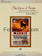 Sketches of Spain Conductor Score