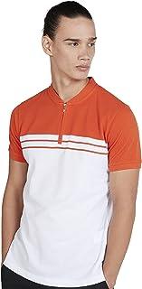 Iconic Men's 2300326 RANGO Knitted Polo Shirt, Orange