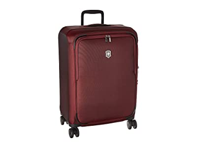 Victorinox Connex Medium Softside Case (Burgundy) Luggage