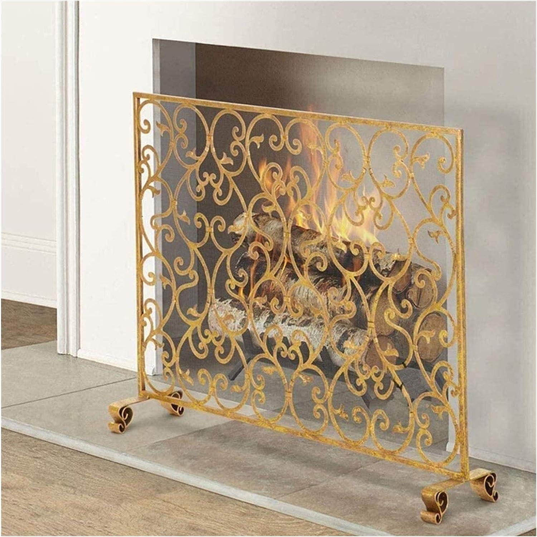 Limited time half sale ZSEFV Screens Fireplace Covers Panle Decorative Single