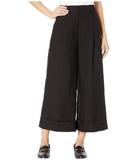 Kate Spade New York Linen Cuff Pants