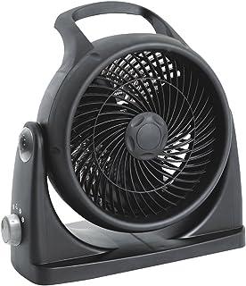 Zephir ZBH20CM - Calefactor (Calentador de ventilador, Interior, Pared, Negro, Giratorio, 2000 W)