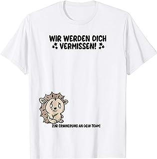 Zum Abschied Geschenk Kollegen Jobwechsel Abschiedsgeschenk T-Shirt