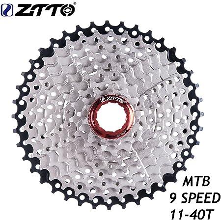 LIXADA 9スピード11-40T MTBマウンテン バイク自転車カセット スプロケットフリーホイール