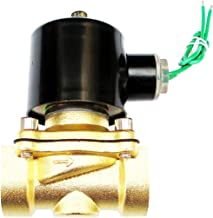 3/4 inch 24V AC Brass Electric Solenoid Valve NPT Gas Water Air Normally Closed