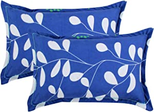 "BSB HOME Cotton 2 Piece Cotton Pillow Cover Set - 20""x30"", Royal Blue"