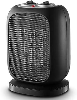 HM&DX Oscilante Cerámica Calefactor Ventilador, Portátil Calefactor Eléctrico Silence Protección contra Sobrecalentamiento Y Volcadura Calefactor De Espacio para Inicio Dormitorio Oficina