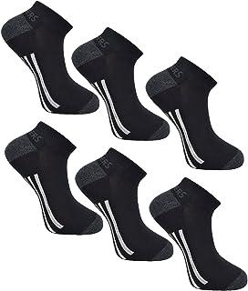 Skechers Mens Trainers Liner socks (Asst 6 Pairs)