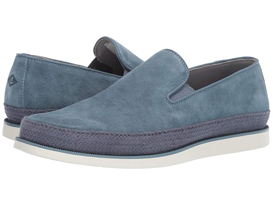 Sperry Gold Cup Kittale Twin Gore Suede (Blue Mirage) Men