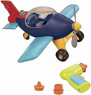 B. toys by Battat - B. Take-Apart Airplane - Toy Vehicle Playset (22pcs)