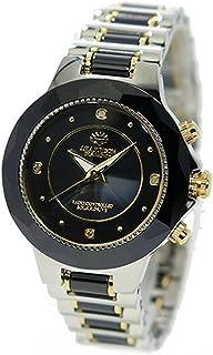 ジョンハリソン ソーラー 電波時計 レディース 腕時計 JH-024LBB