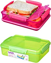 Sistema Food Container, 975 ml - Transparent and Green