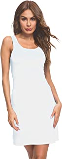 tank top white dress