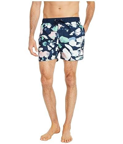 NATIVE YOUTH Terrazzo Swim Shorts (Navy Multi Print) Men