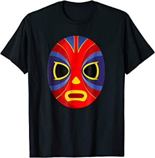 Mexican Super Hero Fighter T Shirt