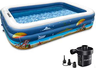 Inflatable Swimming Pools for Family, FUNAVO 100
