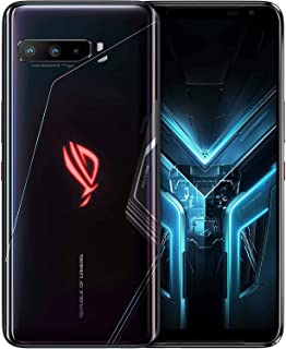 """ASUS ROG Gaming Phone 3-6.59"""" FHD+ 2340x1080 HDR 144Hz Display - 6000mAh Battery - 64MP/13MP/5MP Triple Camera with 24MP F..."""