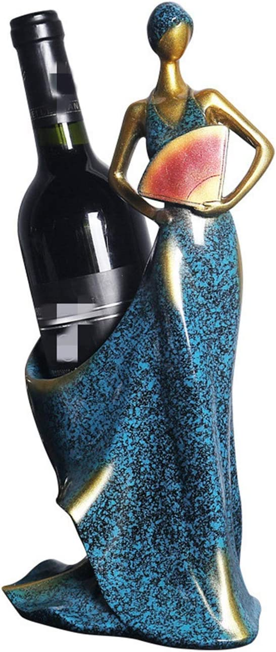 ROBDAE Decorative Our Max 83% OFF shop OFFers the best service Wine Rack European Bottle Girl
