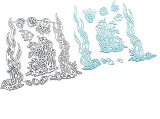 Fogun La Vie Marine algues Matériel Dies de decoupe Scrapbooking, DIY Album de Scrapbooking Outil de Gaufrage Décoration P...