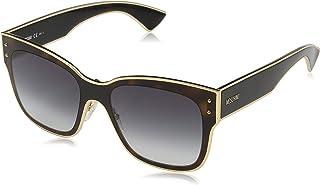 Moschino Rectangle Sunglasses for Women - Grey Lens, MOS000/S 0869O
